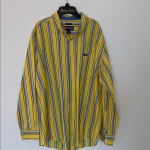Men's XL Chaps Button Up Long Sleeve Shirt